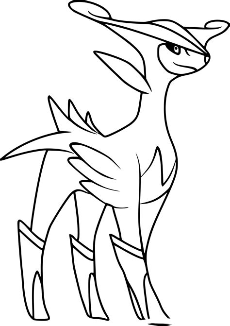 Coloriage Viridium Pokemon 224 Imprimer Sur Coloriages Info Color For Print L