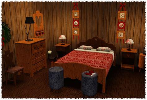 spacesims alaric bedroom alpine winter bedroom from around the sims liquid sims
