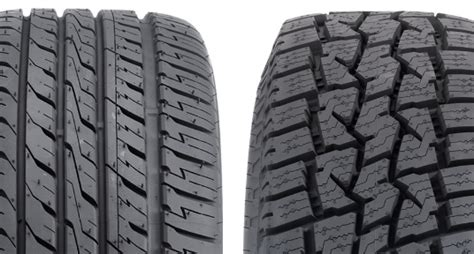 tread pattern name how to identify an asymmetrical tyre from a symmetrical