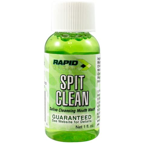 Detox Mouthwash For Saliva Test by Rapid Clear Spit Clean