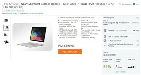 Microsoft Surface Book Malaysia this is how much the microsoft surface book 2 will cost in malaysia soyacincau
