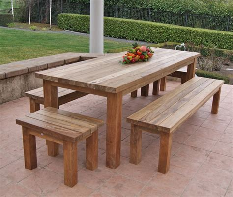 Wood Patio Tables Reclaimed Recycled Teak Patio Furniture Rustic Patio San Francisco By Classic Teak J