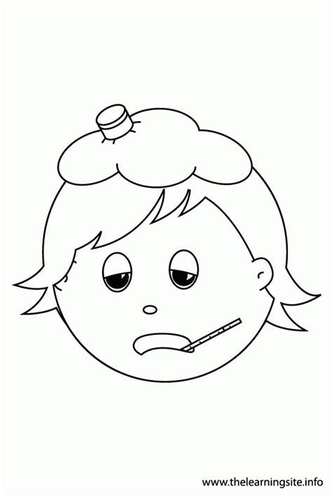 sick child coloring pages coloring home