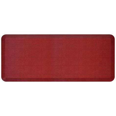 newlife comfort mat newlife designer pebble pomegranate 20 in x 48 in anti