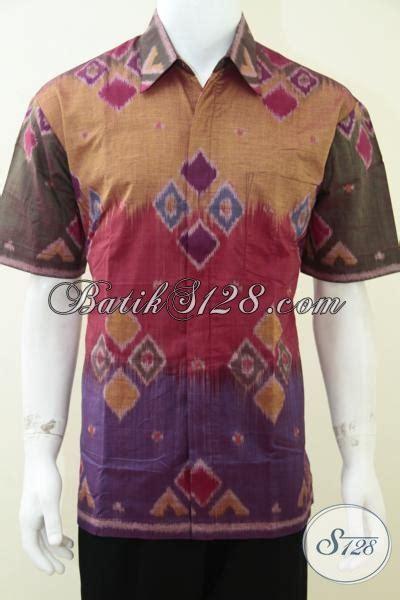 Kemeja Batik Dewasa Kemeja Batik Kantoran 31 kemeja tenun modern untuk anak muda pria dewasa kerja
