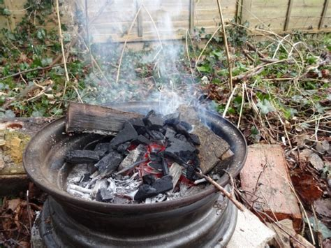 backyard forge woodland ways survival school in the uk bushcraft and