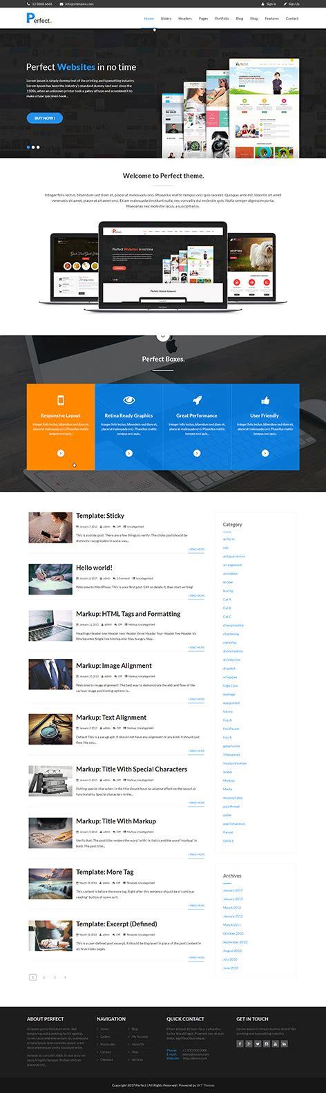 theme wordpress landing page free free landing page wordpress theme for landing pages