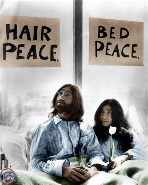 Hair Peace Bed Peace Poster
