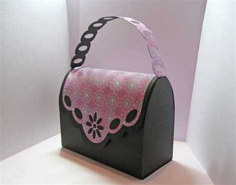handbag gift box template handbag gift bag template