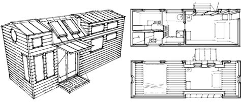 micro mobile home plans tiny living sustainable living
