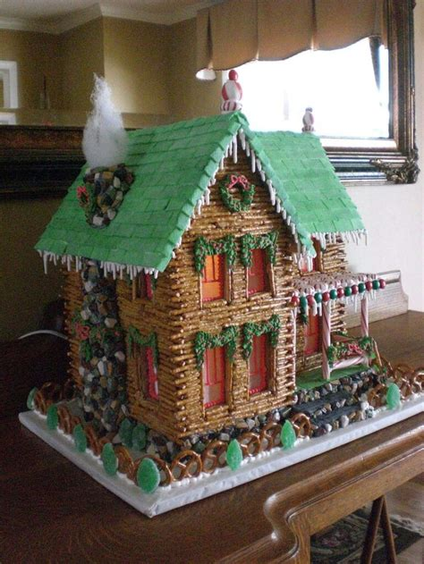 gingerbread log cabin template 17 best images about gingerbread houses on