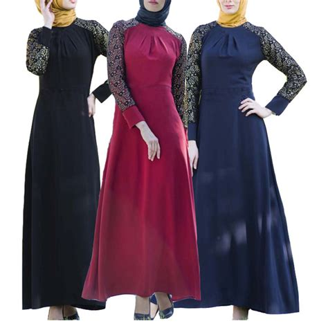 Quality Leska 3 Fashion Muslim muslim black abaya linen top quality islamic clothing for maxi lonh embroidery dubai