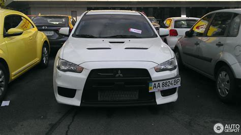 mitsubishi evo 2017 mitsubishi lancer evolution x 5 january 2017 autogespot