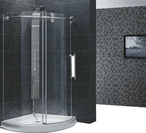 Shower Enclosure Kits by Vigo Vg6031chcl40r Frameless Shower Enclosure Traditional Shower Stalls And Kits