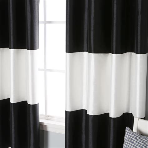 black and white blackout curtains black and white blackout curtains eff awning black white