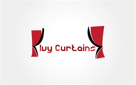 logo curtains curtains logo design