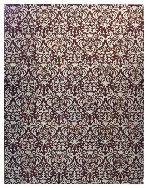 Brown And Gray Area Rug by Chelsea Brown Gray Area Rug Hk368b 1 8 Quot X 2 6