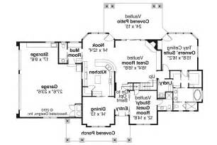 Craftsman Homes Floor Plans by Craftsman House Plans Tillamook 30 519 Associated Designs