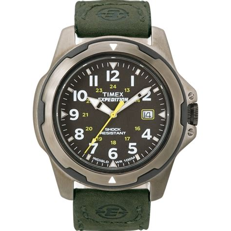 expedition e6397 black green t49271 timex mens black green expedition rugged field
