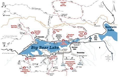 big lake california map tuesday s topic hiking in big rs vacations big