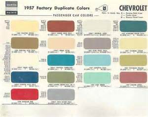 color chips 1957 chevrolet paint color chips pictures to pin on