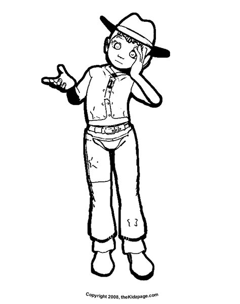 coloring page cowgirl cowgirl coloring page coloring home