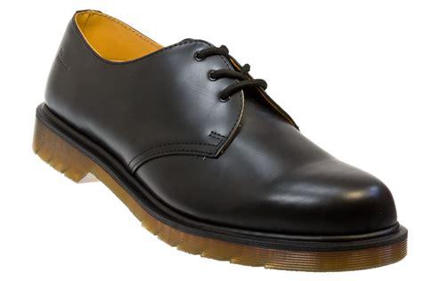 Dr Martens 1461 Black Noir dr martens 1461 pw black smooth leather smart shoes