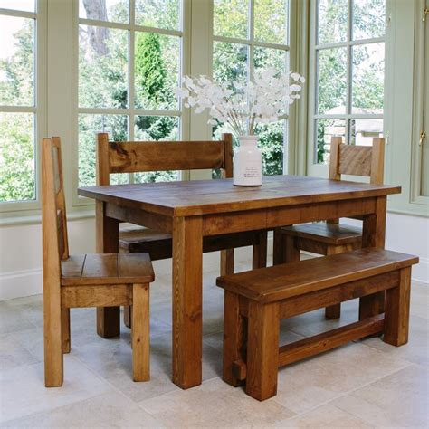 haddon plank dining table package from curiosity interiors