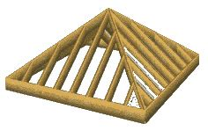 How To Build A Pyramid Roof Pyramid Roof Framing