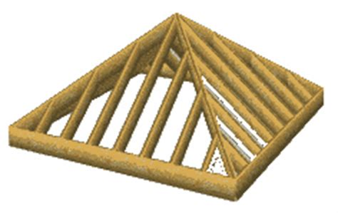 Pyramid Roof Trusses Pyramid Roof Framing