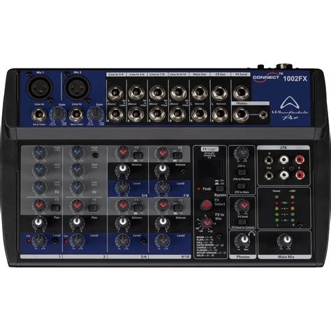 Mixer Wharfedale wharfedale pro connect 1002fx mixers