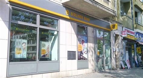 berline bank spandauer stadtteile ohne banken gemeinschaftsfiliale als