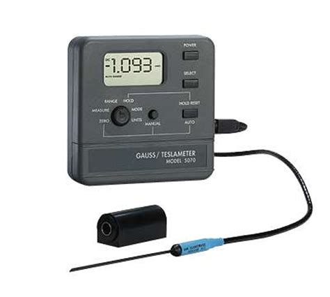 Gauss And Tesla Gauss Tesla Meter 2 And 20 Kg Range From Cole Parmer
