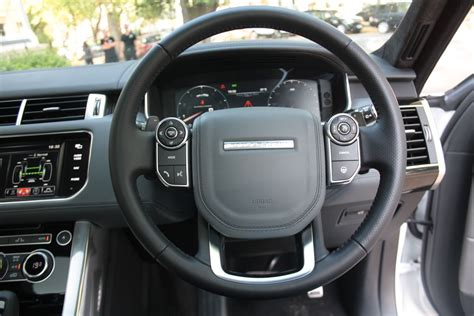 land rover steering wheel 2014 range rover sport steering wheel indian autos blog