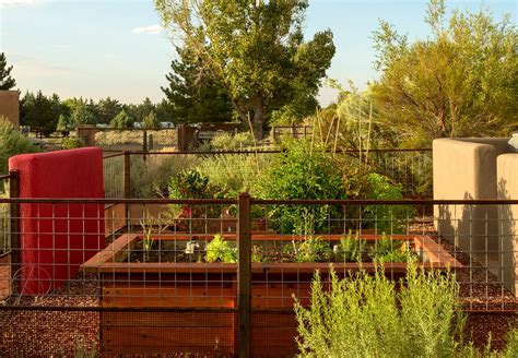 vegetables jumping on the bed vegetable garden fence ideas landscape eclectic with