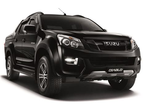 isuzu dmax 2015 isuzu d max diablo launched in malaysia the devilish