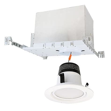 4 quot led recessed lighting ic at new construction housing