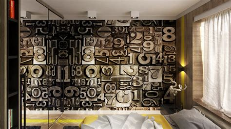 Wand Kreativ Gestalten by Creative Wall Graphic Interior Design Ideas