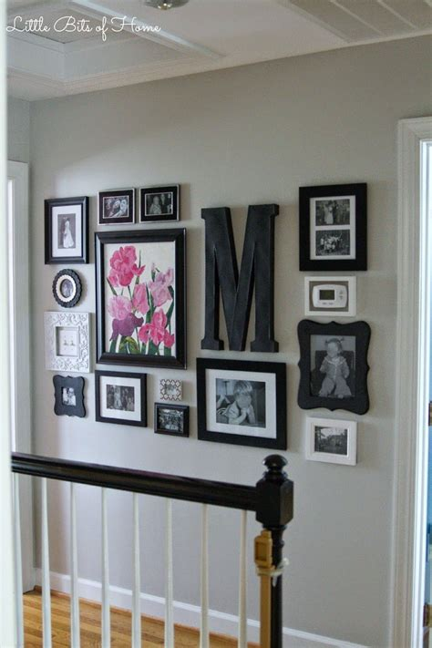 decorate wall little bits of home hallway gallery wall gallery walls