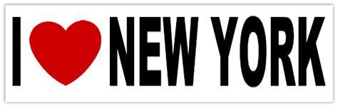 i heart new york i heart new york sticker i heart bumper stickers