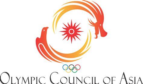 Gamis Akasia thai logo lover the olympic council of asia oca