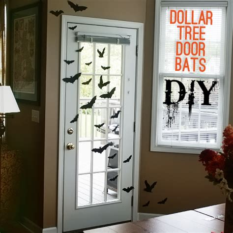 printable halloween door decorations diy dollar tree halloween door bats 100 giveaway