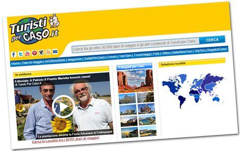 per caso turisti per caso utilit 224 e diari di viaggio sul sito