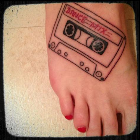 cassette tape tattoo cassette www imgkid the image kid has it