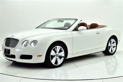 convertible bentley cost used 2008 bentley continental gt w 12 convertible for sale