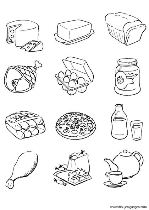 dibujos de comida chatarra para colorear imagui dibujos de comida imagui