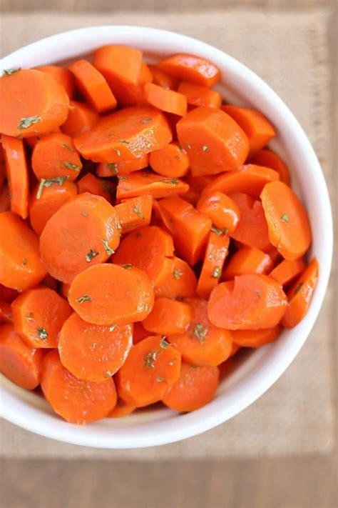 carrot recipes dish easy glazed carrots healthy easy