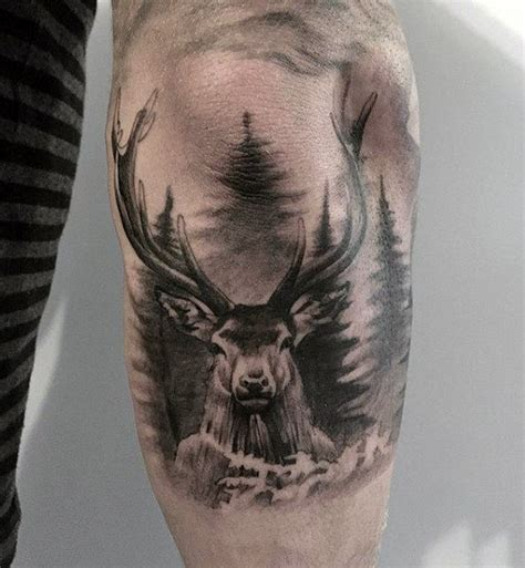 deer tattoo for men deer designs www pixshark images galleries