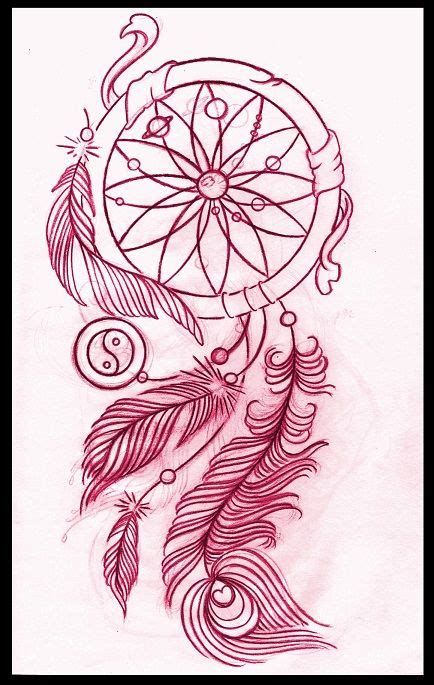 dream catcher tattoo layout dreamcatcher tattoos on pinterest american indian