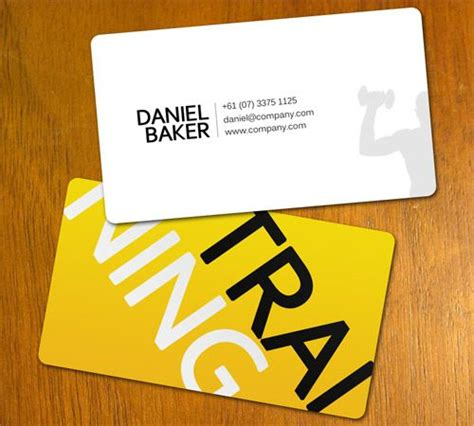 personal trainer business card templates free 25 best ideas about personal trainer business cards on